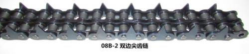 08B-2双边尖齿链